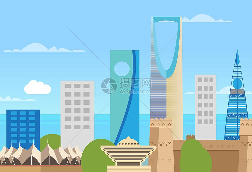 沙特阿拉伯国外城市图片