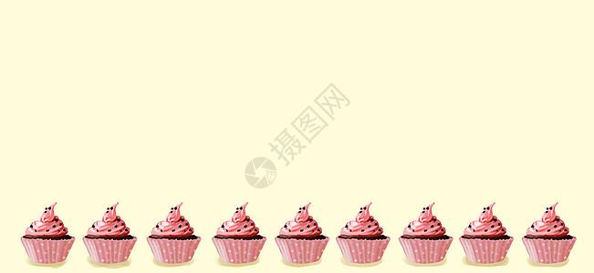 杯子蛋糕图片