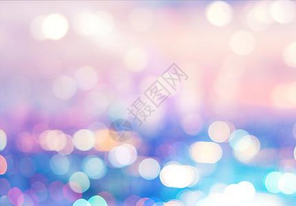 彩色光斑背景图片