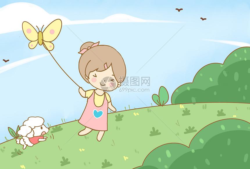 儿童节夏日图片