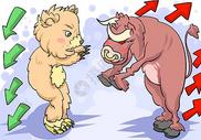 牛市熊市图片