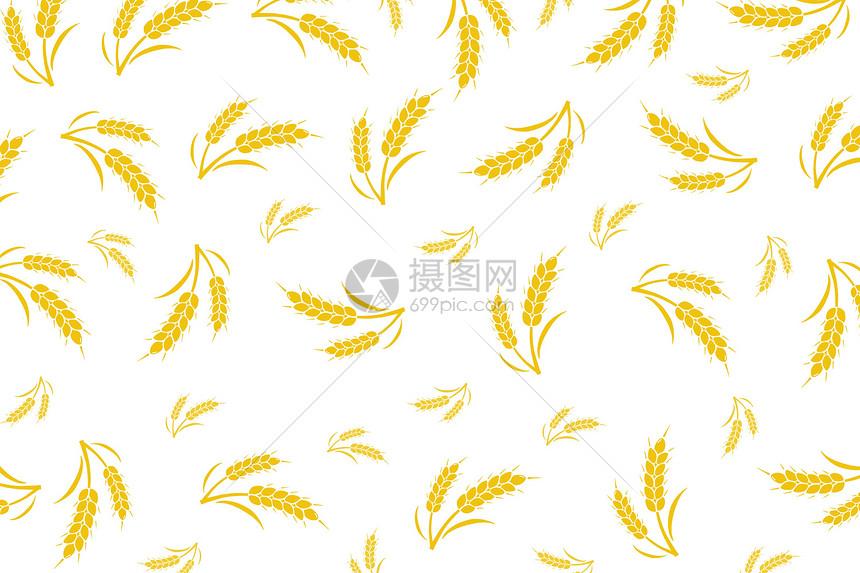 稻谷背景图片