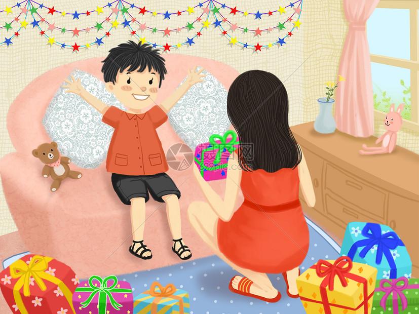 儿童节的礼物图片