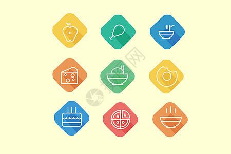 餐饮食物类图标图片