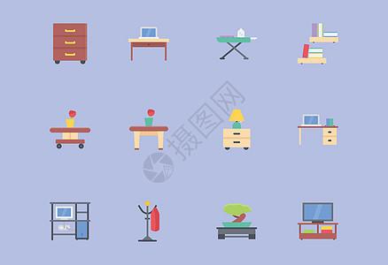 室内装饰图标图片
