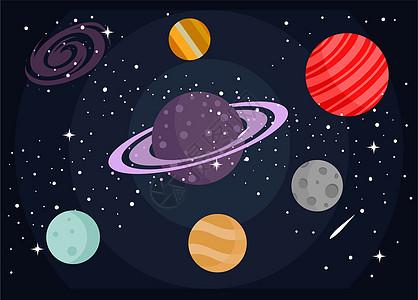 太空背景元素图片