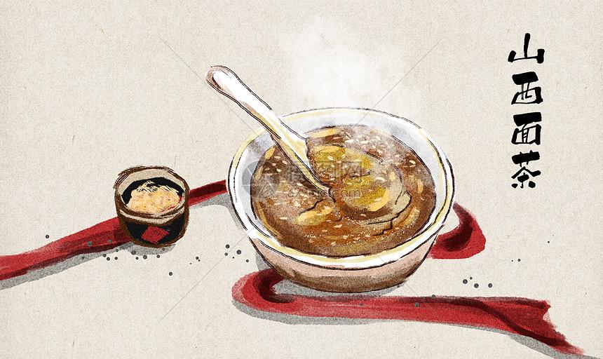 山西面茶图片