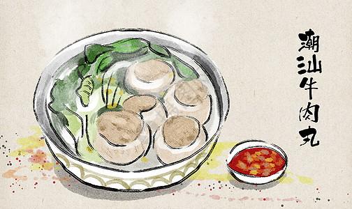 潮汕牛肉丸图片
