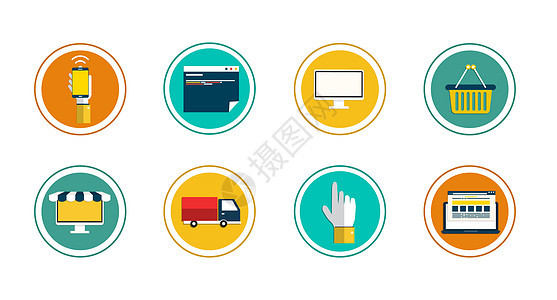 电子商务图标图片