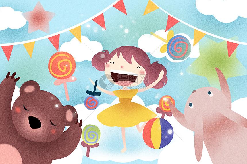 儿童节快乐图片