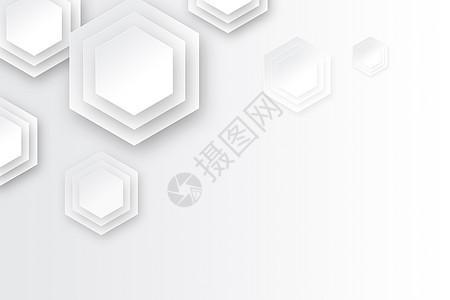 灰白商务背景图片