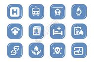 医疗图标元素图片
