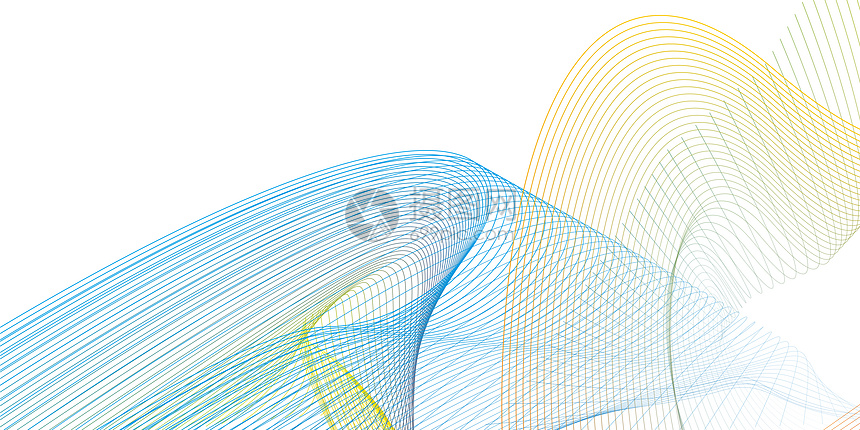 科技商务线条素材图片