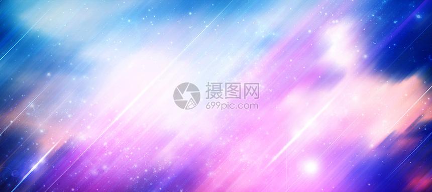 梦幻星空背景图片