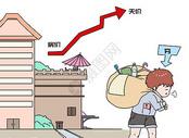 买房租房漫画图片