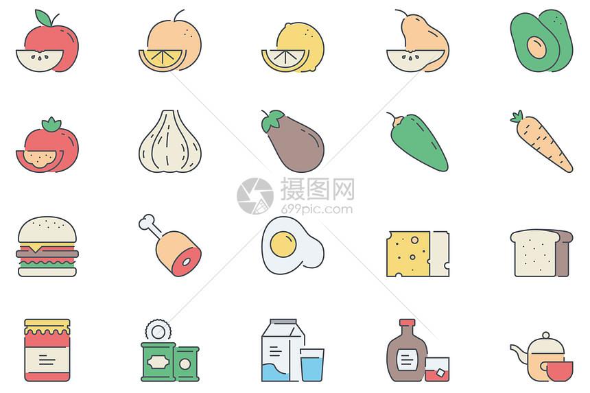 食物水果蔬菜素材图片