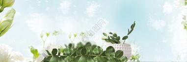 清新电商banner图片