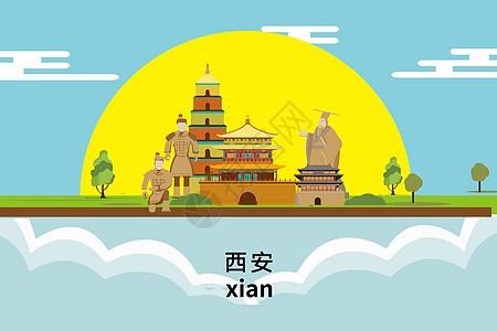 西安城市旅游图片