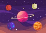 太空背景素材图片