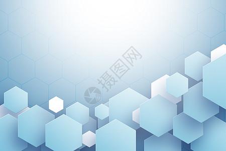 六角形背景图片