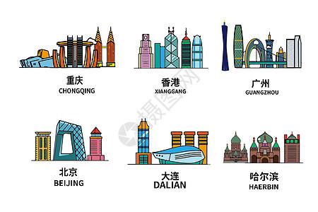 国内建筑背景素材图片