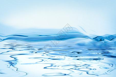 清凉水背景图片