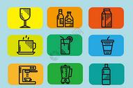 饮品图标图片