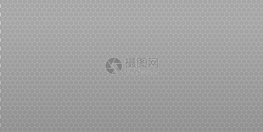 六边形灰色商业背景图片