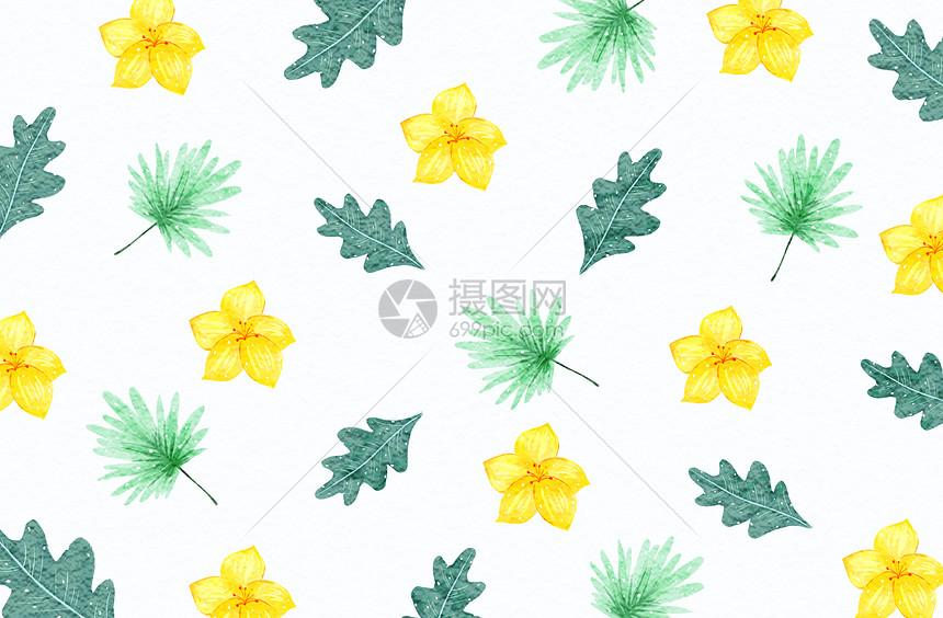 背景清新植物图片