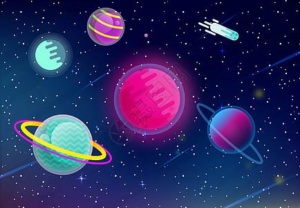 太空背景类素材图片