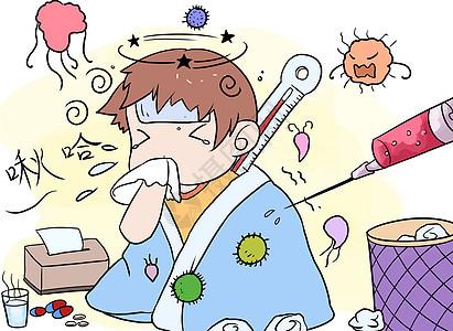 医疗漫画图片