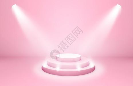 浪漫舞台背景图片