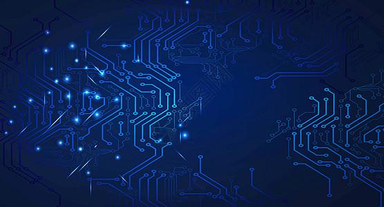 科技电路背景高清图片