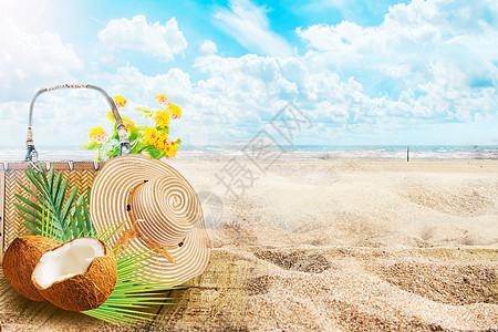 夏季海滩图片