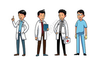 医疗人物素材图片