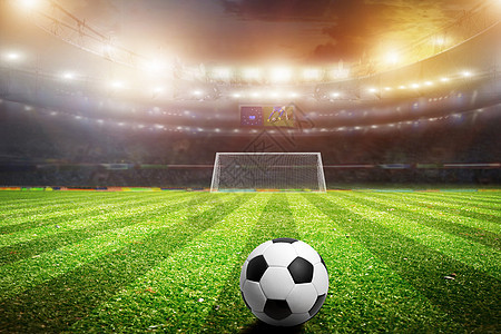 足球赛场图片