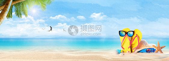 阳光海滩图片