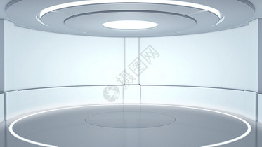 科技舞台空间布景图片
