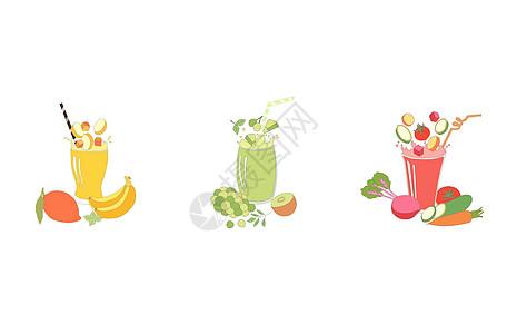 饮料插画素材图片