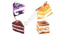 手绘美食素材图片