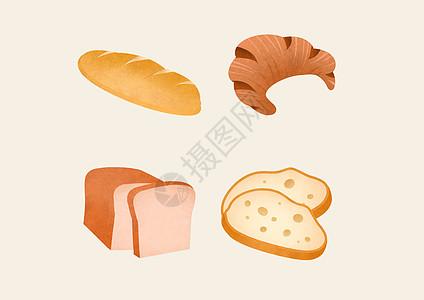 面包甜点素材图片