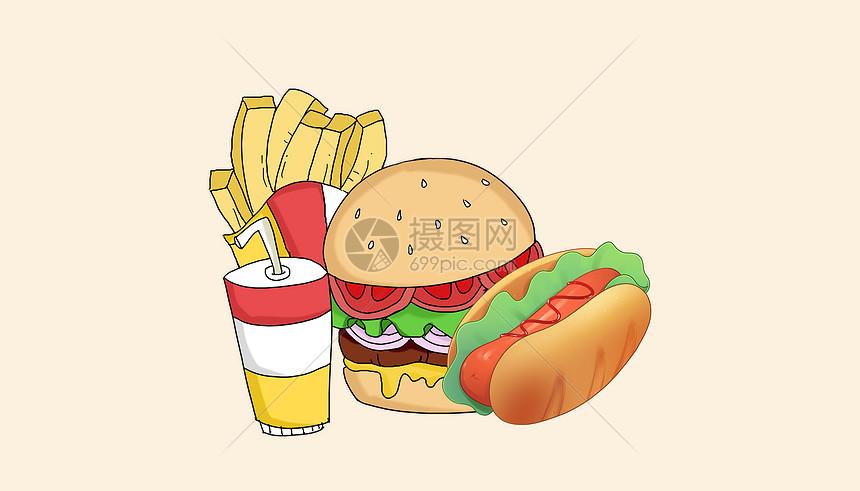 美食快餐图片