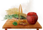 端午节雄黄酒图片
