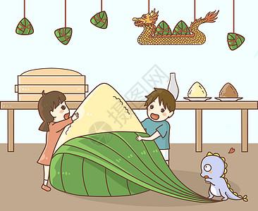 端午节大粽子图片