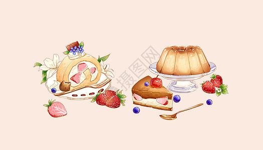 甜点蛋糕食物图片