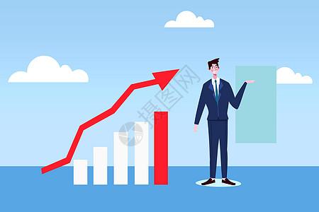业绩增长第一图片