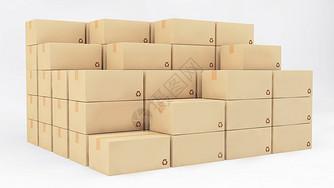 快递包装盒图片