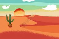 异域风情的荒漠图片