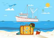 海边旅游旅行度假图片