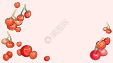 清新樱桃壁纸图片